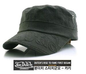 New Von dutch Military Unisex Fashion vintage Hat Baseball cap .02 ... 23fec4c9936