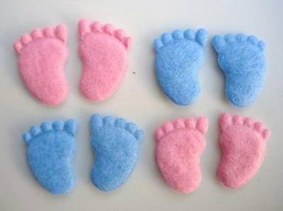 60 Padded Felt Kitty Bow Applique Pink White Blue//baby//Hello//Trim//Sewing//sew L26