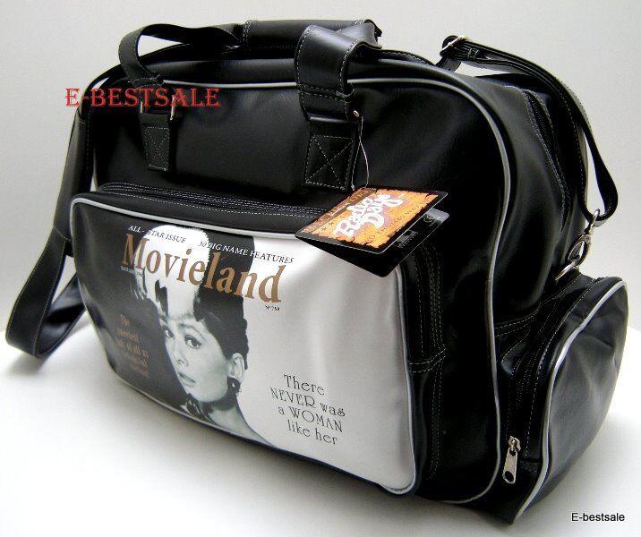 Borsone Audrey Hepburn 2 manici e tracolla tracolla tracolla Borsa 53982 f3bca6