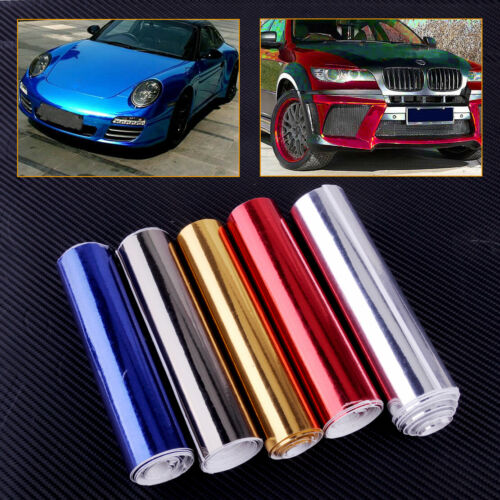 150cmx15cm Car Auto Sale Roll Glossy Chrome Mirror Vinyl Wrap Film Sheet Sticker