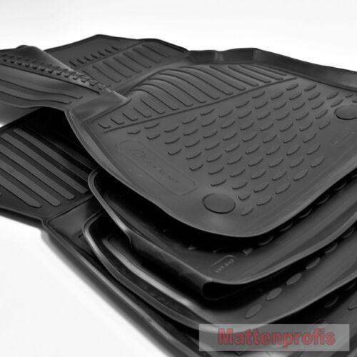 MP Gummimatten Gummifußmatten TPE 3D für BMW X1 F48 ab Bj.11//2014 Nov
