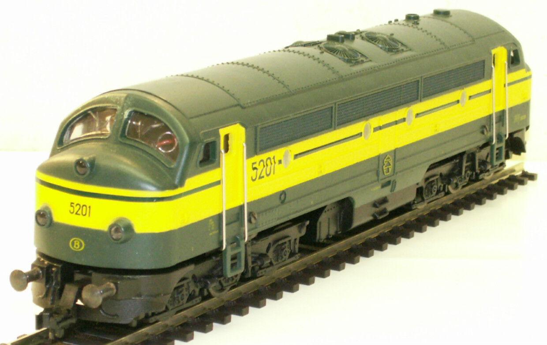 Fleischmann 4270 treno NoHAB BR 5201 IN SCATOLA ORIGINALE mattoncini, molto raro