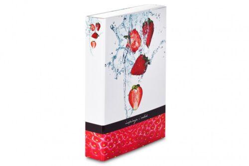 """Ablagebox /""""Erdbeere/"""" Dokumentenmappe /""""Livepac-Fruit/"""" A4 Heftbox"""