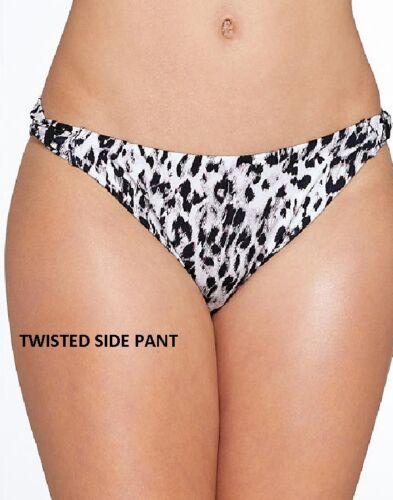 Bikini-Pant-Set-Nero FANTASIE Masai Mara U//W Twist-Anteriore Bikini Coppa Piena Reggiseno