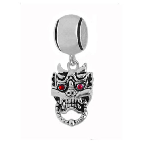European 925 Sterling Silver Charm Beads Dangle Theme for Modular Bracelet D#329