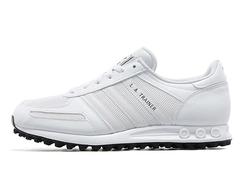 Adidas WEISS LA TRAINER Mens Trainer WEISS Adidas Schuhe #B24255 Trainer 85e622
