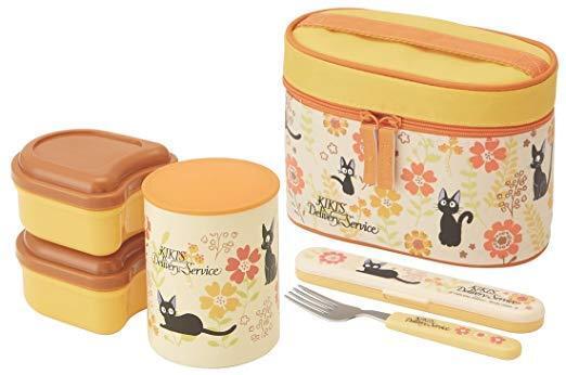 Hot-keeping Bento Lunch Box Jar super light Kiki's Delivery Service Japan F S