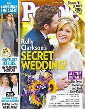 Kelly Clarkson, Danielle Fishel, Bill de Blasio, Steven Yeun Nov. 4, 2013 People