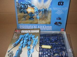 Gasaraki-Tactical-Armor-034-Shinden-034-1-35-2-Missles-Parts-Do-Not-Incl