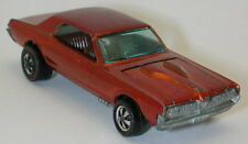 Redline Hotwheels Orange 1968 Custom Cougar  oc10093
