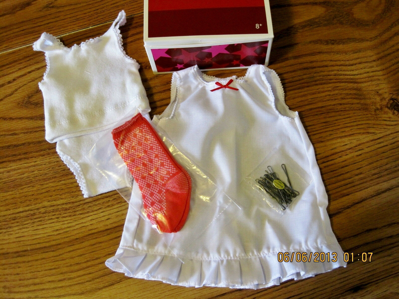 American Girl Molly Emily's Undies RETIrot and hard to find NIB New in Box PC