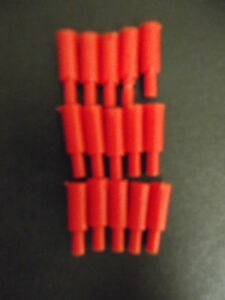15 RED AND 30 WHITE SCORING PEGS MB GAMES BATTLESHIP SPARES