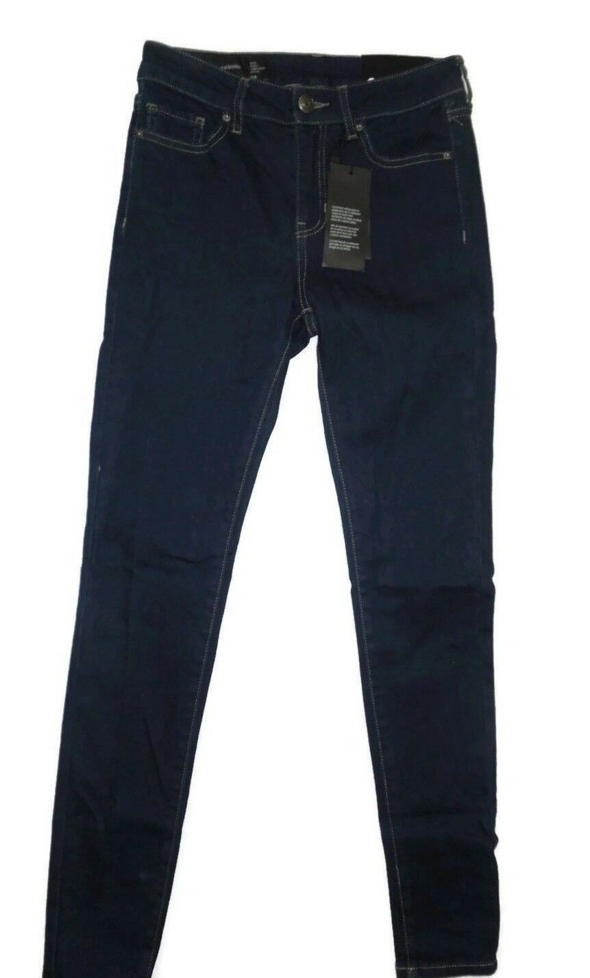 Armani Exchange super skinny dark bluee 1500 denim Jeans size 25