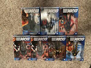 G.I. Joe Classified Series Lot Of 7 NIB FIGURES
