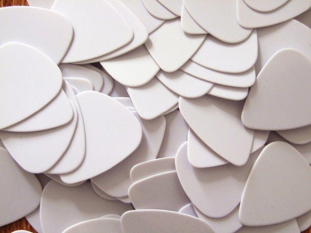 Elige tu cantidad blancoo blancoo blancoo blancoo Guitar Picks Mediano .71mm envío gratis 10 para 5000 c03254