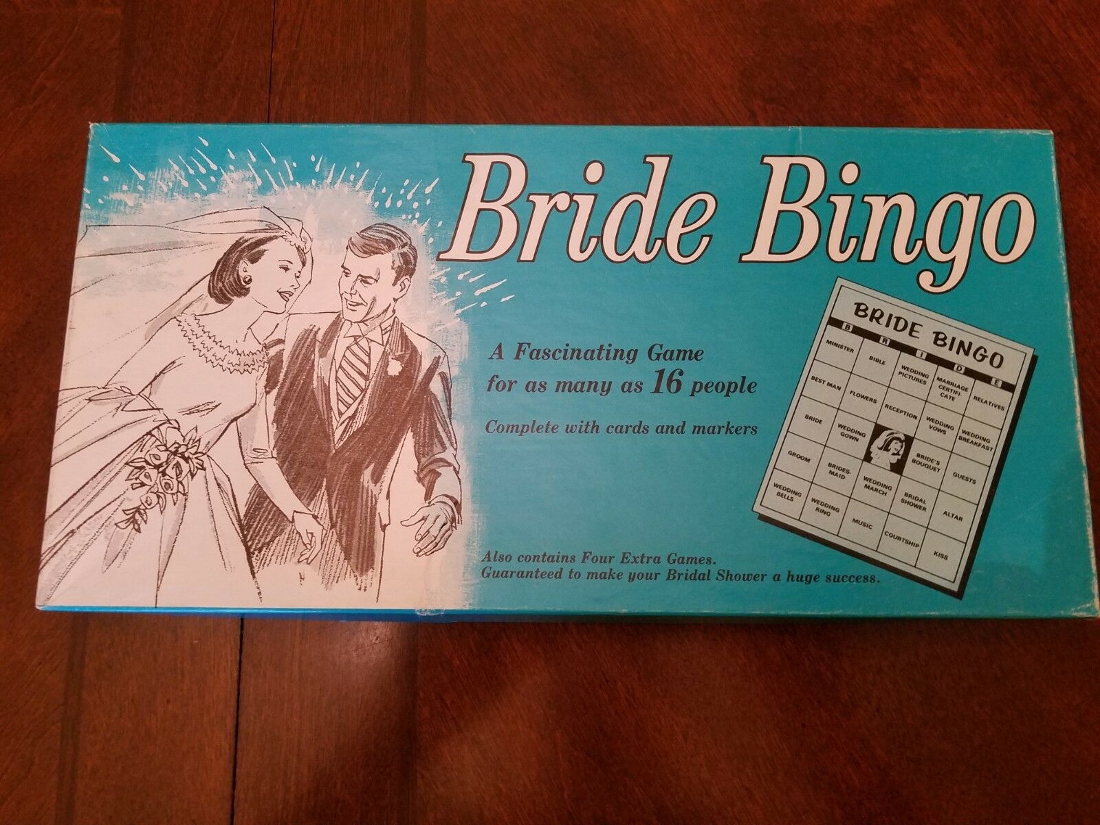 Vintage Leister Bride Bingo Bridal shower game