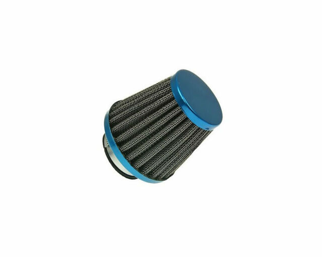 Scooter Moped 35mm Power Air Filter Blue