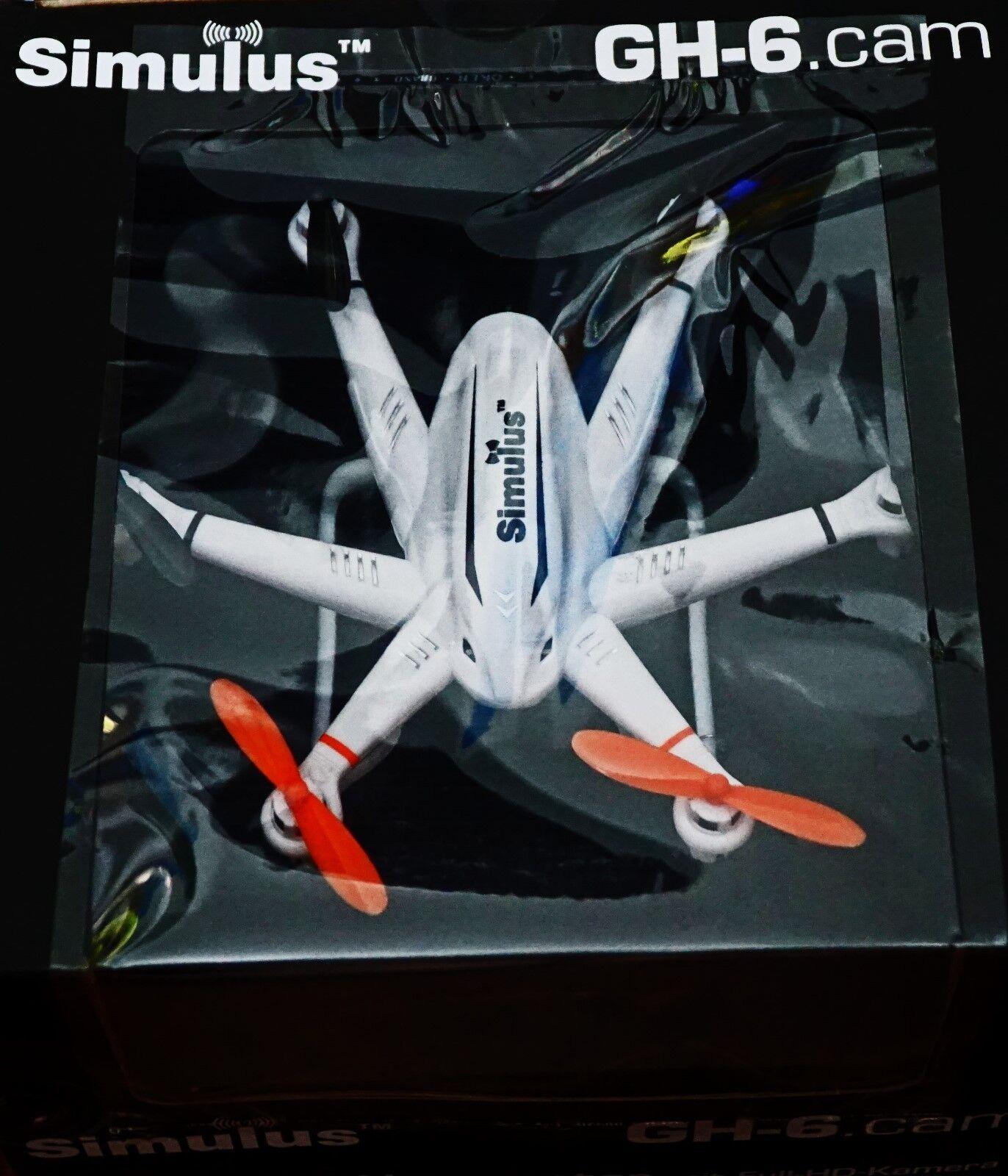 Drone  Kompakter Profi-Hexacopter GH-6.cam mit 720p-HD-Kamera (Hexakopter)