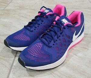bd9ffe892fd9 Nike Zoom Pegasus 31 Women s Navy-Blue Pink Running Shoes 654486-416 ...