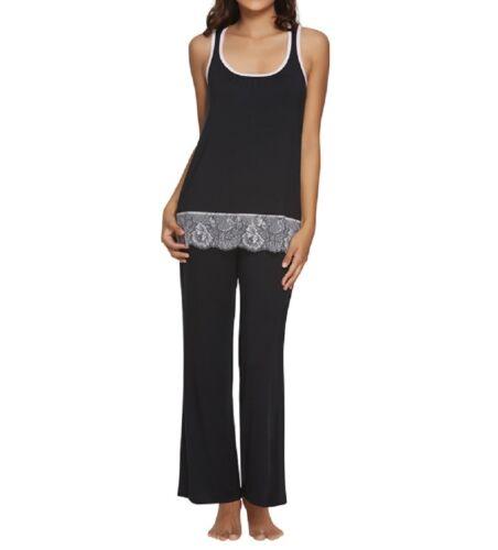 2566 Felina Women/'s Alice Scoop-Neck Tank and Pant Pajama Set