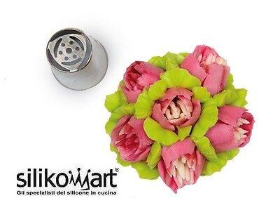 Cornetto In Blister Beccuccio Per Realizzare Fiori Selected Material Beautiful Flower Tube 02 Silikomart