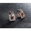 Indexbild 7 - Klapp-Creolen-Doppelreihen-echt-Sterling-Silber-925-Damen-Kreolen-Ohrringe