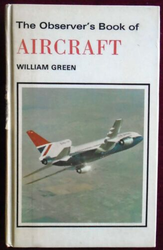 1 of 1 - OBSERVER's BOOK of AIRCRAFT No.11 by WILLIAM GREEN 1980 29th EDITION
