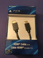 Official Sony Hdmi Cable High Speed 2m (6ft) Long (ps3)