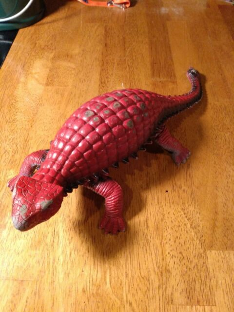 Ankylosaurus Figure Dinosaur Toy vintage 1986 rare number 1034940