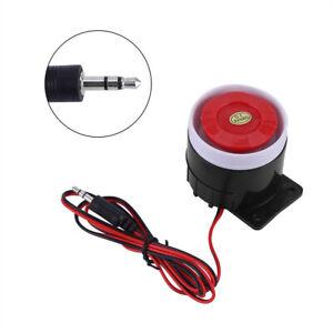 12V-110dB-Sirena-ruidosamente-con-Cable-Cuerno-sistema-de-alarma-hogar-sonido