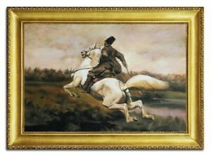 Oil-Painting-Pictures-Hand-Painted-with-Frame-Baroque-Art-96485