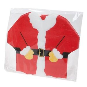 Pack-of-192-Christmas-Santa-Clause-Shaped-Napkins-Xmas-Dinner-Table-Party-Decor