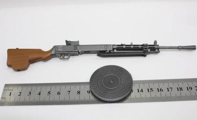 1/6 scale Soldiers DP-28/27 Degtyarev DP28 WW2 RUSSIAN LMG LIGHT MACHINE GUN#US