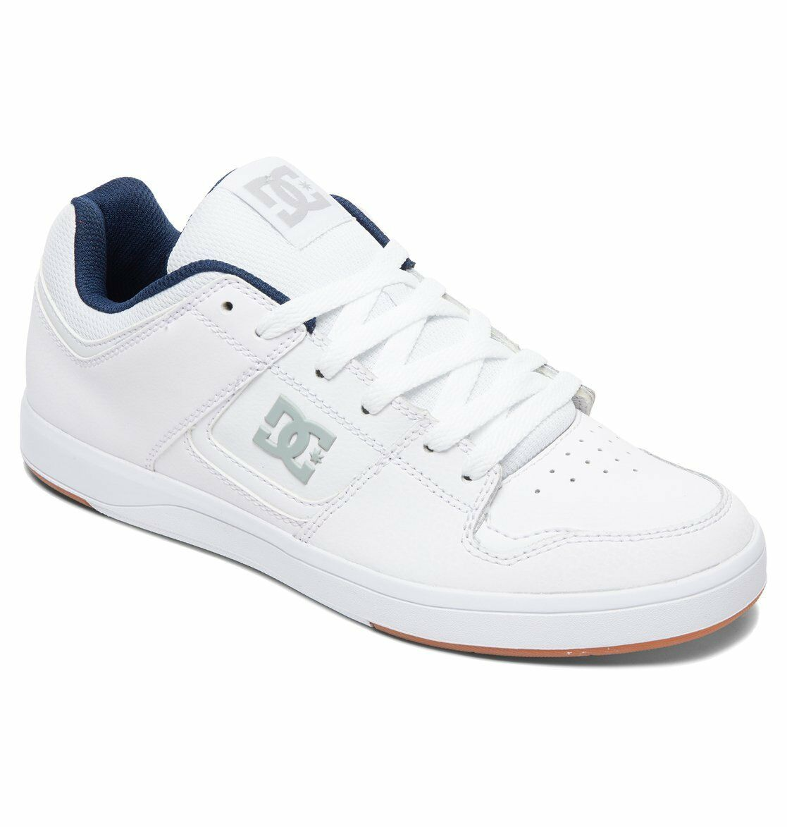 Uomo DC CURE SKATEBOARDING SHOES NIB WHITE WHITE     (WW0)