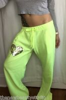 V8 Victoria's Secret Yellow Angel Sweatpants With Sequins On Front, S