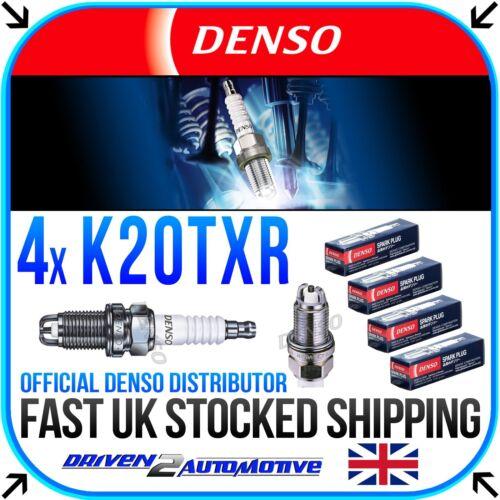 4x DENSO K20TXR NICKEL SPARK PLUGS FOR BMW 3 Convertible 318 Ci 09.01-12.07