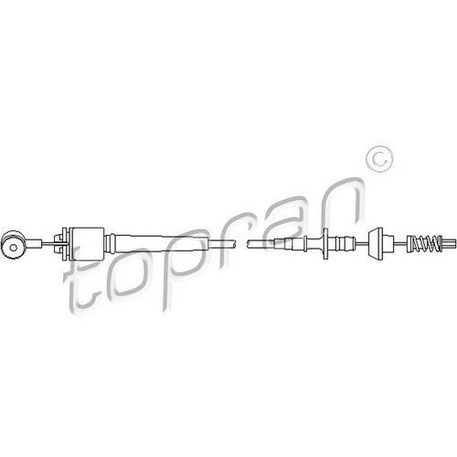 TOPRAN Original Gaszug - 302 775 - Ford Focus