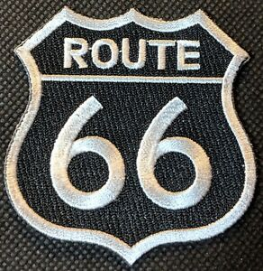 Embroidered Iron on//Sew on Patches America/'s Highway Route 66 The Mother Road