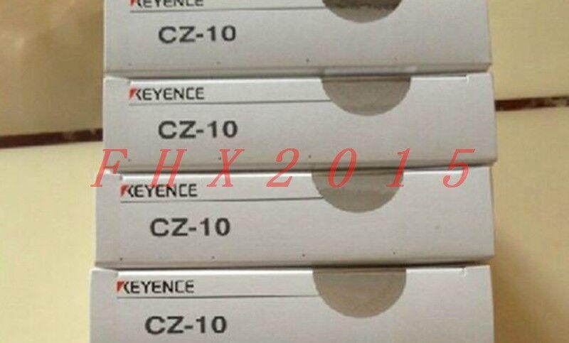 NEW KEYENCE Colour Fiber Optic Sensor head RGB CZ-10 FIBEROPTIC CZ10