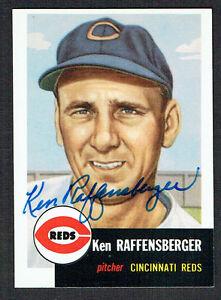 Sports Trading Cards Sports Mem, Cards & Fan Shop 1991 Topps Archives #276 Ken Raffensberger > 1953 > Cincinnati Reds Buy Now