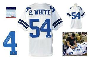 Details about Randy White SIGNED White Jersey - PSA DNA Witness - Autographed w/ Photo