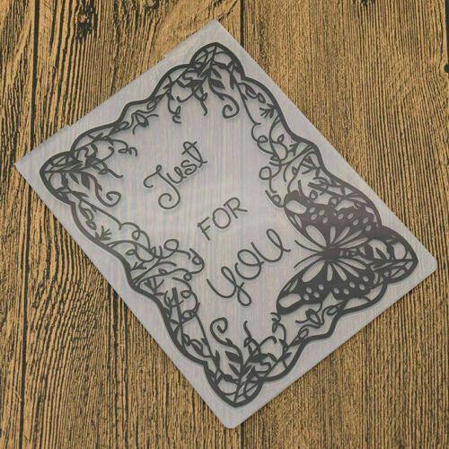 DIY Embossing Folder Cutting Stencil Scrapbooking Template Paper Craft Xmas Gift