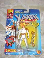 1992 TOY BIZ THE UNCANNY X-MEN SHATTERSTAR DUAL SWORD ACTION FIGURE NOC X-FORCE!