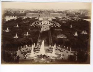 France-Versailles-Vue-generale-Vintage-albumen-print-Tirage-albumine-1