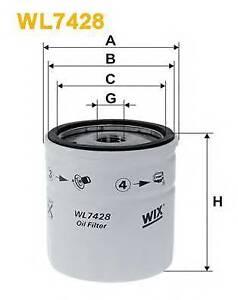 Wix-Filters-WL7428-Filtro-de-aceite-RC516990P-OE-Quality