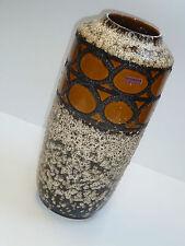 50er SCHEURICH Keramik VASE BODENVASE 517 45 fat lava floor vase 50s 60s WGP