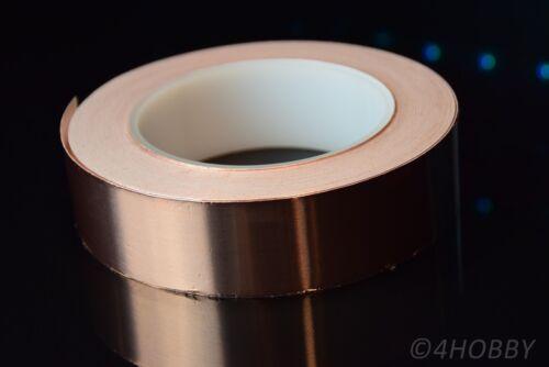 Kupferband 30m x 30mm Breit selbstklebend Band Kupfer Abschirmband Abschirmung
