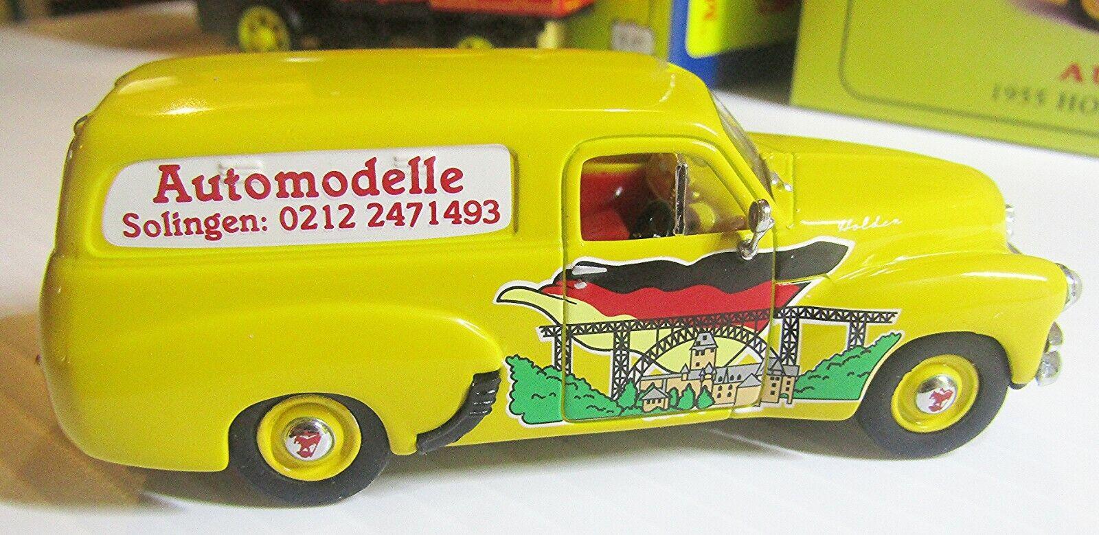 MATCHBOX YHN01 SC MODELS OF YESTERYEAR 1955  HOLDEN FJ 2104 PANEL VAN IN  BOX