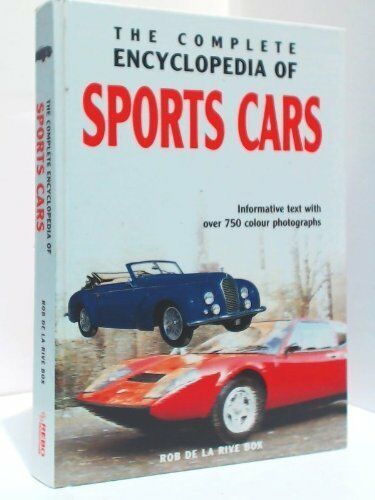 1 of 1 - Encyclopaedia of Classic Cars, Sports Cars 1945-1975 By Rob De La Rive Box