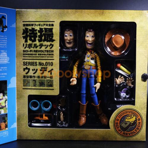"Toy Story Woody Sci-fi Revoltech Series 010 6/"" Action Figure Disney Kaiyodo New"